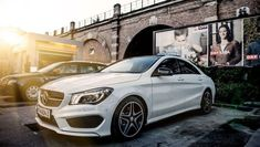 Nice Mercedes 2017: Driving Benzes — Mercedes-Benz CLA 250 AMG line Car24 - World Bayers