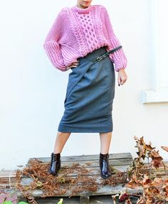 Maxi Skirt High Waisted Skirt Plus Size Skirt Wool Skirt in- Now I completely understand this armhole shape