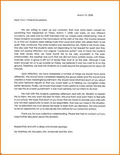 Browse Apology Letter For Bad Behavior In School Our To Principal Samples Learn