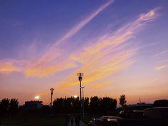 First Football Game, Celestial, Sunset, Outdoor, Outdoors, Sunsets, Outdoor Games, The Great Outdoors, The Sunset