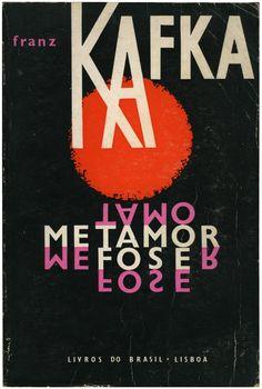 Metamorfose, Franz Kafka, Livros do Brasil, design Infante do Carmo, 1962