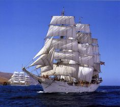 """Christian Radich"" is a Norwegian full-rigged ship, named after a Norwegian shipowner. The vessel was built at Framnæs shipyard in Sandefjord, Norway, and was delivered on 17 June 1937. It was built for training sailors for the Norwegian merchant navy, and did so for many years."