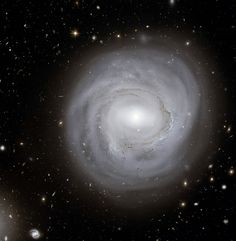NASA released an image Thursday of spiral galaxy NGC 4921 taken by the Hubble Space Telescope. The picture was created from 80 separate pictures.