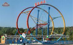 Anillo de Ferris - Venta de juegos mecánicos extremos - Fabricante de juegos mecánicos para parques de atracciones-Sinorides