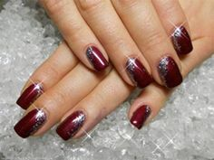 50 Burgundy Nail Designs For 2015 | Nail Design Ideaz