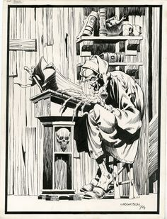 wrightson-creepy 69 frontispiece