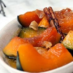 One of my mother's traditional vegetable side dishes. The ginger flavour is excellent with pumpkin. Sweet Pumpkin Recipes, Baked Pumpkin, Vegetable Side Dishes, Vegetable Recipes, South African Recipes, Ethnic Recipes, South African Dishes, Wine Recipes, Cooking Recipes
