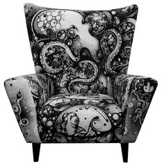 By Nanami Cowdroy 'Curious Embrace' Wingchair in Ltd Ed of 33 ONLY!