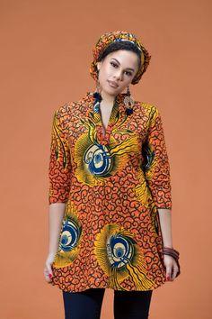 African Print Babette Headwrap| Grass-fields| Stylish & Bold