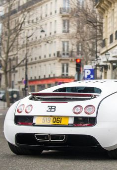 Bugatti Veyron Super Sport in Paris