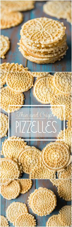 My search is over- this is the PERFECT pizzelle recipe! So thin, so light, so incredibly crisp, with plenty of authentic anise flavor. These are just like my great-aunt used to make- maybe even better! food desserts cookies