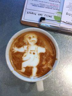 Strange Latte Art
