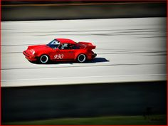 Porsche 930 speed blur