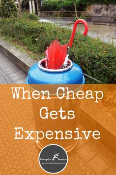 Are you tired of paying for things at bargain prices and having to purchase them all over. Well, you might as well buy a better-made items at a higher prices...The math just tells the truth!