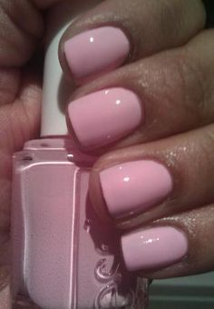 My nail colors for this week.... Raising Awareness by Essie! Makes your hand look so tan :)