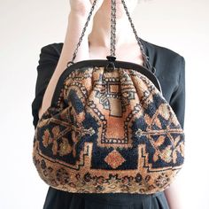 1970s carpet bag