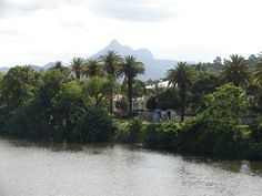 Mount Warning in Murwillumbah, Australia