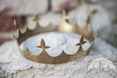 DISCOUNTED PRICE Medieval Brass Crown Sansa Ready to by armstreet