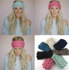 Cheap accessories dell, Buy Quality headband pearl directly from China headband lot Suppliers: Colors Wide Knitted Headband Women's Fashion Hair Accessory Winter Cozy Stocking Stuffer Cable Knit Ear Warmer Ear Warmer Headband, Head Wrap Headband, Knitted Headband, Crochet Woman, Diy Crochet, Crochet Hats, Warm Headbands, Headbands For Women, Diy Crafts Knitting