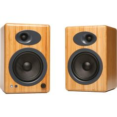 Audioengine A5+ Power Bookshelf Speakers -Bamboo Finish $469.00