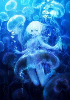 64 Trendy ideas for anime art girl fantasy colour Fantasy Creatures, Mythical Creatures, Medusa Animal, Manga Art, Manga Anime, Character Art, Character Design, Character Aesthetic, 8bit Art