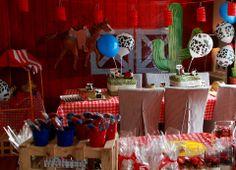 Party cowboy theme #theme #party #cowboy #kids