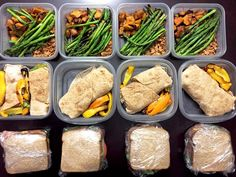 Meal prep complete!  Meal 1: Ground turkey with sweet potatoes and asparagus. F: 8g C: 29g P: 26g  Meal 2: Lemon Chicken wrap F: 2g C: 18g P: 29  Meal 3: Ham and turkey sandwich with FF cheese F: 8g C: 37g P: 38g  #iifym #macros #flexibledieting #dieting #diet #mealprep #fit #fitfam #fitspo #fitness #fitmencook #lifting #weights #workingout #lifestyle #livefit #lvft #journey #mealprepdaily #mealprepsunday #eatclean #eatforabs #cleaneating #getlean by chikevin22