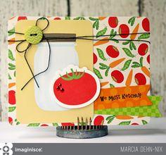 We Must Ketchup - Scrapbook.com - Fun card for a friend.