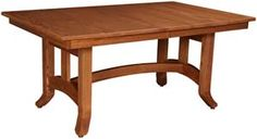 Biltmore table in oak from amishoutletstore.com.  Want this table in quarter sawn oak with a darker stain.