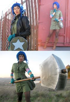 this is cosplay! she looks just like Romona