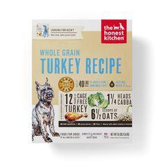 The Honest Kitchen Whole Grain Turkey Recipe Dehydrated Dog Food - 1.75-oz, case of 12