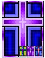 21 different size options in one pattern. Cross Quilt, Church Banners, Barn Quilts, Mini Quilts, Quilt Making, Quilt Blocks, Favorite Color, Quilt Patterns, Christian Crosses