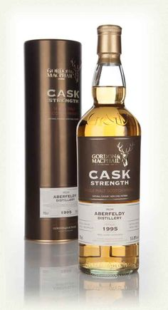 Aberfeldy 18 Year Old 1995 (casks 2488, 2489 & 2491) - Cask Strength (Gordon & MacPhail), Cask strength Aberfeldy single malt, drawn from three casks by Gordon and MacPhail. The three casks were set aside to mature by the Highland distillery in April 1995. 15 years later, in January 2014, the top class independent bottler did what a top class independent bottler does and bottled the whisky up! They were even kind enough to bottle it as cask strength - a robust 55.8% ABV.