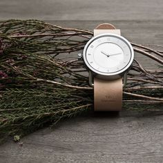 Natural Leather Wristband. Shop at tidwatches.com #tidwatches
