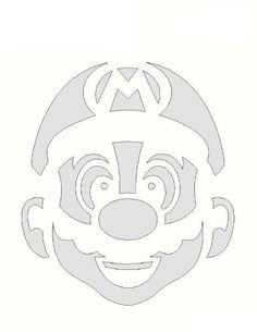 Download Your Free Mario Stencil Here Save Time And Start Project In Minutes