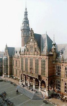 Academiegebouw, University of Groningen. The Netherlands