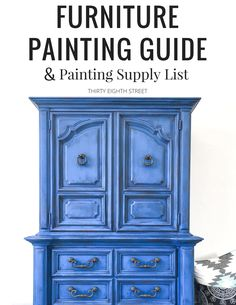 Learn how to easily blend and layer paint onto your furniture. See our FREE furniture painting techniques and layering paint tutorials to help you get a beautiful layered paint finish! Thrift Store Furniture, Refurbished Furniture, Repurposed Furniture, Furniture Makeover, Chair Makeover, Furniture Painting Techniques, Chalk Paint Furniture, Cool Furniture, Furniture Ideas