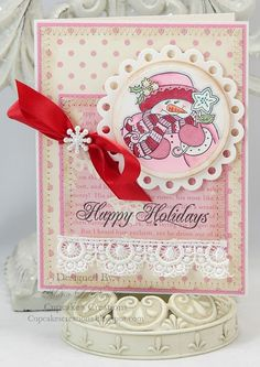JustRite Christmas Card designed by Mona Pendleton