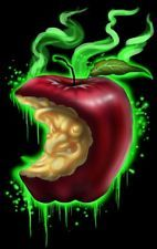 Witch Apple by Lefty Joe Poison Snow White Evil Villain Art Giclee Canvas Print