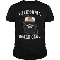 Awesome Beard Lovers Tee Shirts Gift for you or your family member and your friend:  CALIFORNIA Tee Shirts T-Shirts