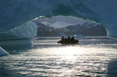 Greenland Sermilik Fjord Photo taken by Rob Tully #Antarctica #OceanwideExpeditions