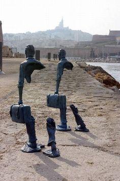 bronze sculptures street art - Google Search