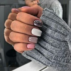 The advantage of the gel is that it allows you to enjoy your French manicure for a long time. There are four different ways to make a French manicure on gel nails. Stylish Nails, Trendy Nails, Love Nails, My Nails, Fall Nails, Nail Manicure, Nail Polish, Short Gel Nails, Nagellack Trends