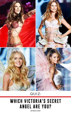 Which Victoria's Secret Angel are you? Take the quiz to find out!