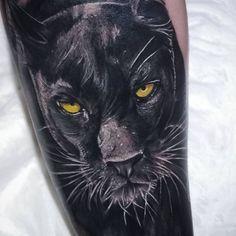 Animal Sleeve Tattoo, Lion Tattoo Sleeves, Animal Tattoos, Sleeve Tattoos, Panther Tattoos, Black Panther Tattoo, Eagle Tattoos, Black Tattoos, Venetian Mask Tattoo