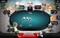 What would you do in this play?  http://apps.facebook.com/our-poker/ #Poker #Games #SocialGames