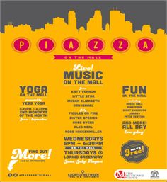 Piazza on the Mall: 2014 Summer Programming Schedule Announced! #minneapolis