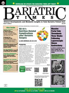 Guillain-Barré-like Syndrome after Bariatric Surgery  : Bariatric Times