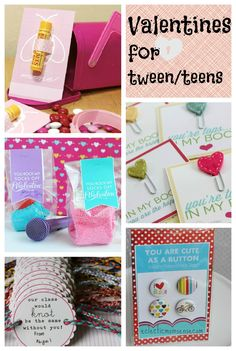Valentines Ideas for Tween/Teens via @Kelly {Eclectic Momsense} - eclecticmomsense.com