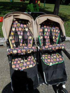 Sitzauflage Buggy / Kinderwagen nähen - nähen und häkeln by KeDiYa: Tutorial - Kinderwagensitzauflage